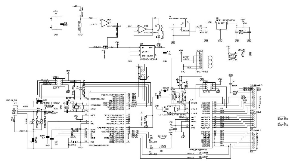 Arduino Uno Circuit Diagram Maker Wiring Diagram