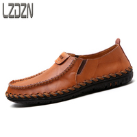 The Summer Men S Leather Shoes Personality S Casual Pedal Middle Aged Men Lazy Summer Ventilation