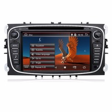 KLYDE 2 Din 7″ Android 8.1 8 core For FORD FOCUS MONDEO S-MAX CONNECT 2008-2011 Android 7.1 quad core Car Radio