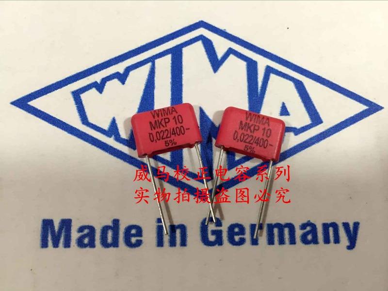 2019 hot sale 10pcs/20pcs Germany WIMA MKP10 400V 0.022UF 223 P: 10mm Audio capacitor free shipping