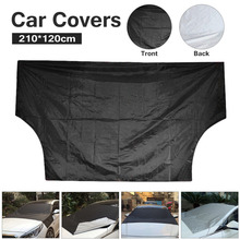Car umbrella Covers Windscreen Cover Heat Sun Shade Anti Snow Frost Ice Shield Dust Protector Ice Frost Winter 210*120CM cheap Car Covers polyester umbrella cloth 0 16kg Universal 2 1m cacoonlisteo 1 2m Magnetic car front windshield snow frost cover