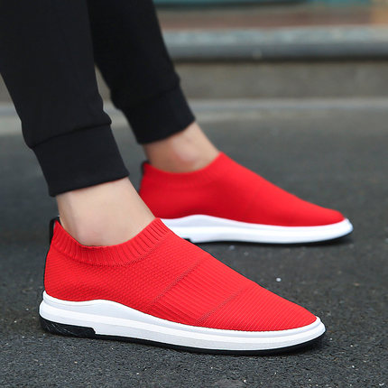 2018 Spring and Autumn new men's canvas shoes three times vulcanized men's shoes small white shoes leisure