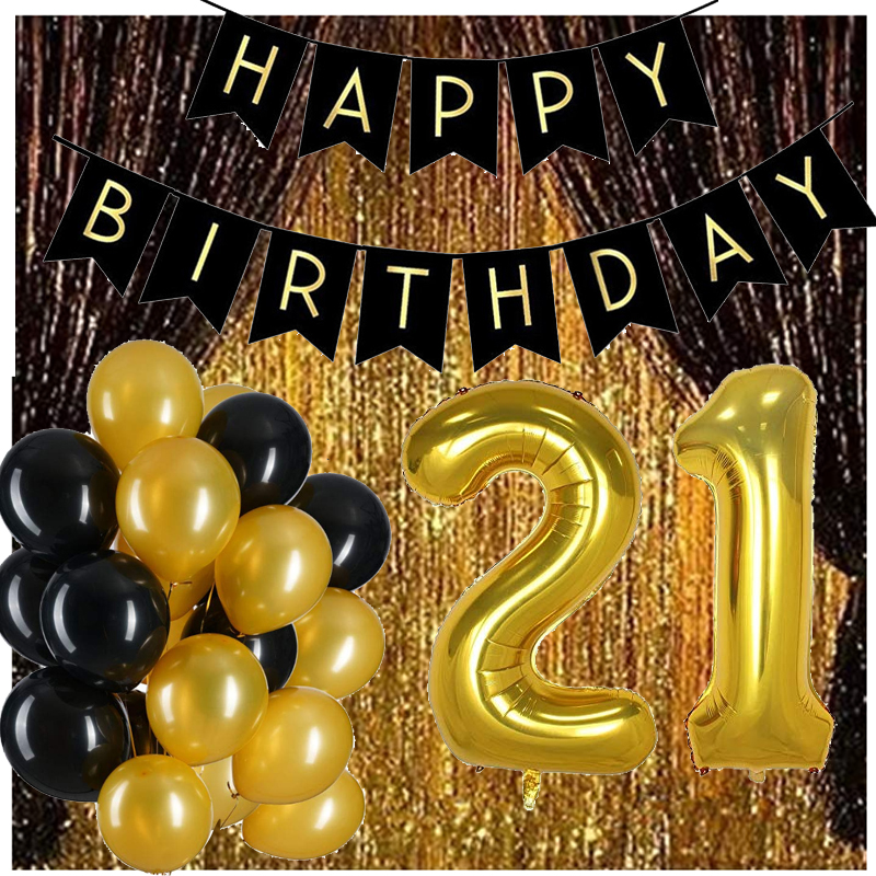12inch Latex Air Balloons Gold black Curtain16 18 30 40 60 <font><b>70</b></font> Years Happy <font><b>Birthday</b></font> Party <font><b>Decorations</b></font> Adult Foil Helium balloon image