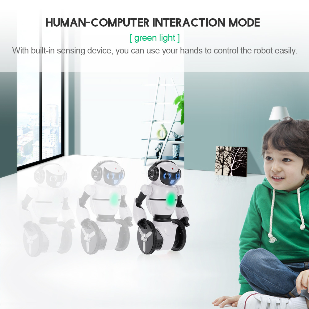 Smart RC Robot F4 0.3MP Camera Wifi FPV APP Control Intelligent G-sensor Robot Car Electronic Toys Gift for Children Kids (11)