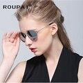Espelho Óculos Polarizados Óculos de Sol dos homens de alumínio E Magnésio óculos Masculinos Óculos Acessórios Para Mulheres RP3447