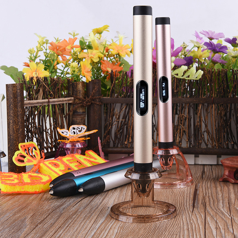 ФОТО Manufacturers wholesale cold 3 d printing pen cold 3 d pen not hot graffiti pen brush 3 d printing to send their children gifts