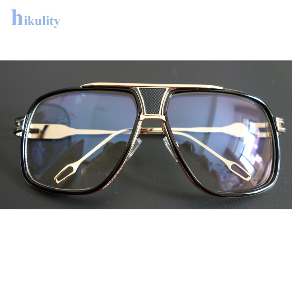 a24cea720808b Aliexpress.com   Buy 2017 Newest Clear Glasses Men Luxury Brand Sunglasses  Myopia Clear Lens Glasses Frame Oversize Suqare Eyeglasses Women Eyewear  from ...