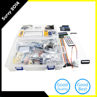 For Arduino Starter Kit for Arduino Mega2560 UNO Nano with Tutorial / Power Supply / Stepper Motor