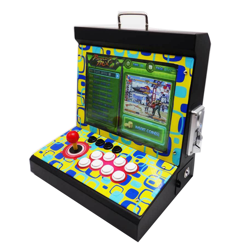 2019 Nieuwste Joystick Consoles, DIY arcade video game machine met 1300 in 1 game pcb board Pandora's Box 6