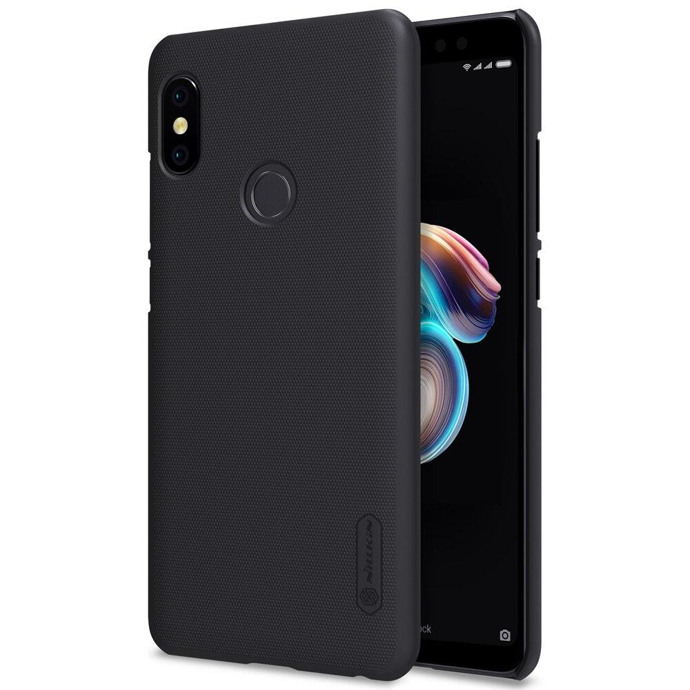 Für XiaoMi RedMi Hinweis 5 Pro Fall Nillkin Mattschirm Harte kunststoff Rückseitigen Abdeckung für RedMi Note 5 Pro Geschenk Bildschirm schutz