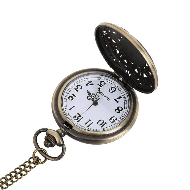 #5001Vintage Chain Retro The Greatest Pocket Watch Necklace For Grandpa Dad Gifts DROPSHIPPING New Arrival Freeshipping Hot Sale