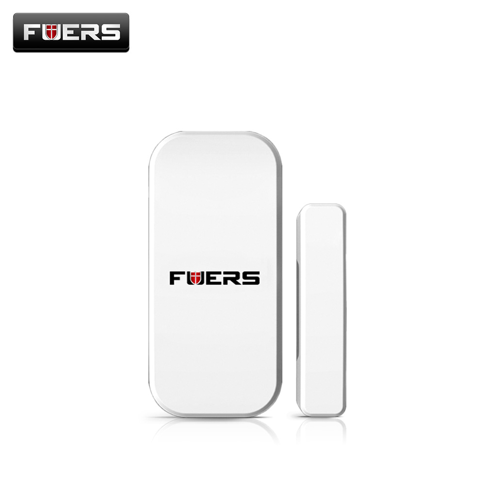 Fuers Wireless Intelligent Window Door Sensor for Home Security Alarm Wireless Alarm System Door Sensors Detector For GSM PSTN new 433mhz wireless door window sensor for gsm pstn home alarm system home security voice burglar smart alarm system