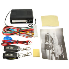 Universal Keyless Entry System Car Alarm Systems Device Auto Remote Control Kit Door Lock Car Central Locking And Unlock