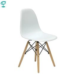 94894 Barneo N-12 Plastik Dapur Sarapan Interior Bangku Kursi Bar Perabot Dapur Putih