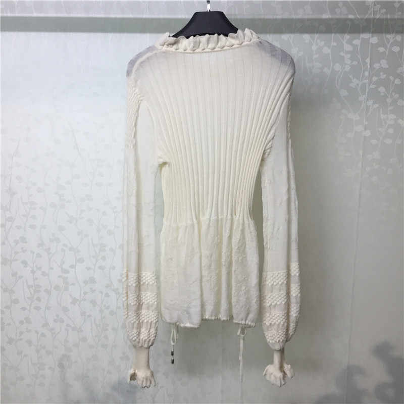 Elegant Sweater for Women Long Sleeve O-neck Slim Style Lady Pullovers 2018 new Women Sweater