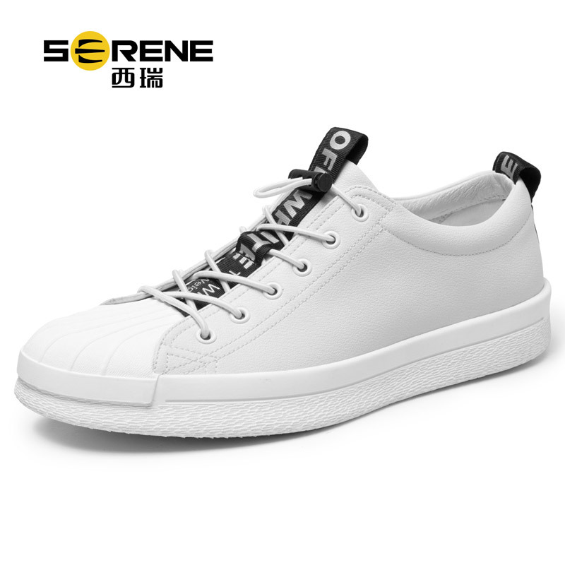 Serene Genuine Leather Men Shoes Mens Designer Shoes Men Casual Shoes Lace-up Leather Shoes Men Luxury 2018 New Zapatos Hombre men leather casual shoes lace up man flat luxury fashion chaussure homme soft zapatos hombre summer men genuine leather shoes