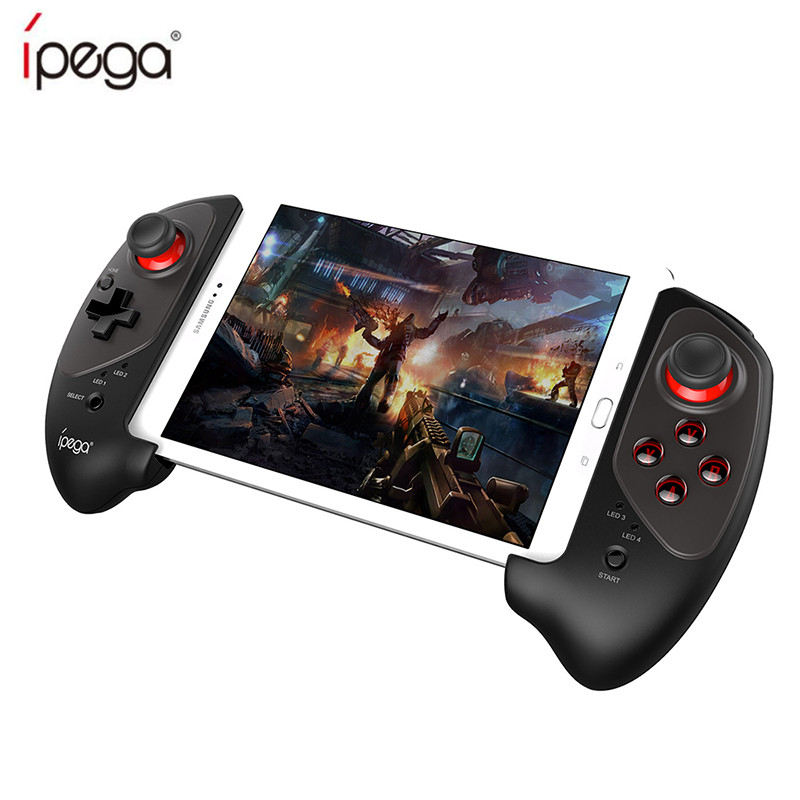 IPEGA PG-9083 PG 9083 Bluetooth Gamepad Wireless Telescopic Game Controller Practical Stretch Joystick Pad for Android/ iOS/ PC luminex 9083