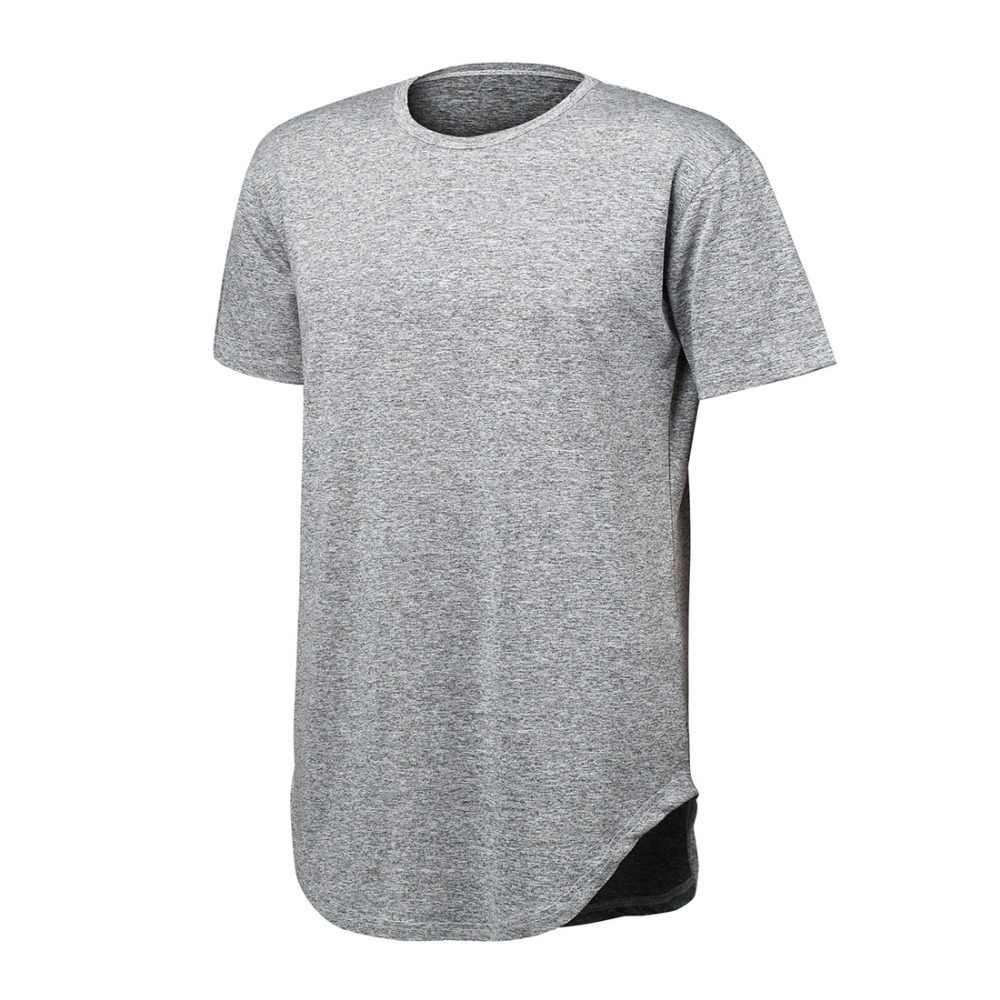 76634ad2d ... Hip Hop T Shirt Streetwear Mens Boys 2018 Casual Cotton Curved Hem  Shirt Mens Top Tee ...