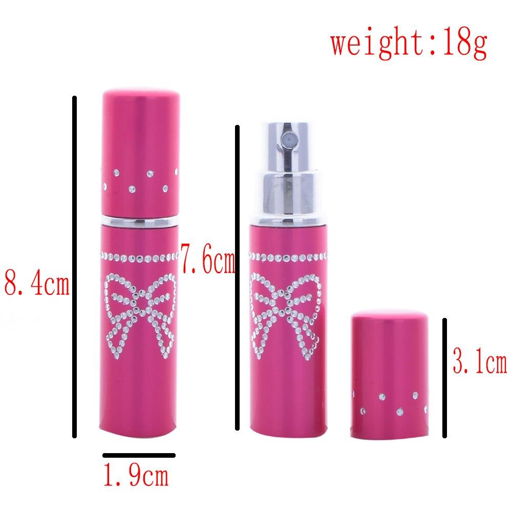 5 ml 100 PCS/Lot Mini conteneur d'atomiseur de parfum avec impression bouteilles de pulvérisation papillon contenants en verre cosmétiques - 4