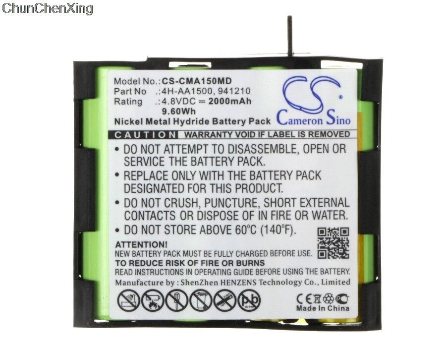 Cameron Sino Batterie für Compex Rand US, Enegry, FIT, Mi, Mi-bereit, UNS, Läufer, SP 2,0, SP 4,0, Sport Elite, vitalität, voor Fit 1,0