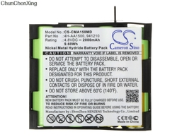 Cameron Sino Battery untuk Compex Tepi Kita Enegry, Fit, MI, Mi-Siap, AS pelari, SP 2.0, SP 4.0, Olahraga Elit, Vitalitas, untuk Fit 1.0