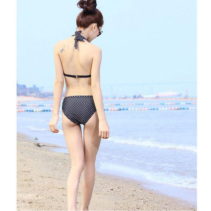 c60ec30610 Korean style swimsuit female three piece set conservative bikini set blouse student  hot spring swimsuit sweet girl beach party s-in Bikinis Set from Sports ...