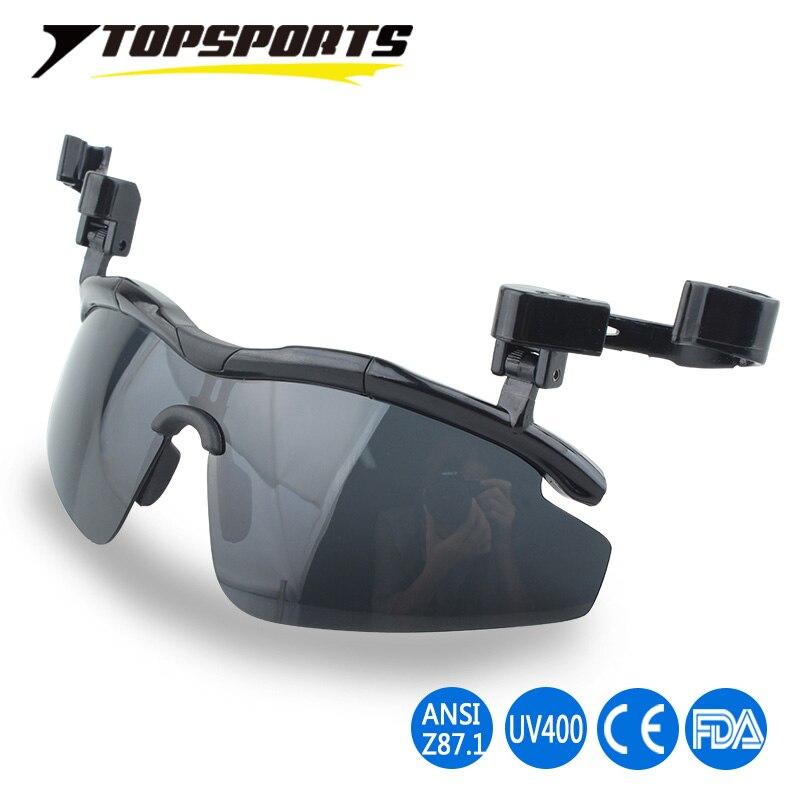 ae406c25cd 2017 New Outdoor Polarized Glasses UV400 protection Hat Visors Sport Cap  Clip-on men Sunglasses