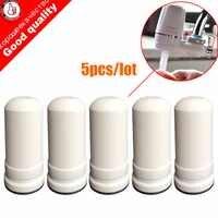 5 unids/lote cartuchos de filtro de agua para la cocina kubichai grifo montado purificador de agua de grifo de carbón activado filtros de agua