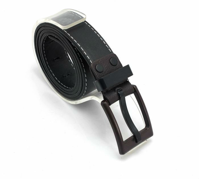 free shipping 1PCS Korean Mens PU Leather   Belt   Anti-allergic Buckle Waistband at various colour