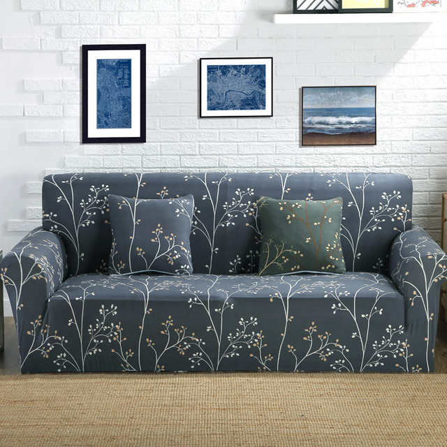 Aliexpress Com Buy Black Sofa Slipcovers Cheap Creative Plant