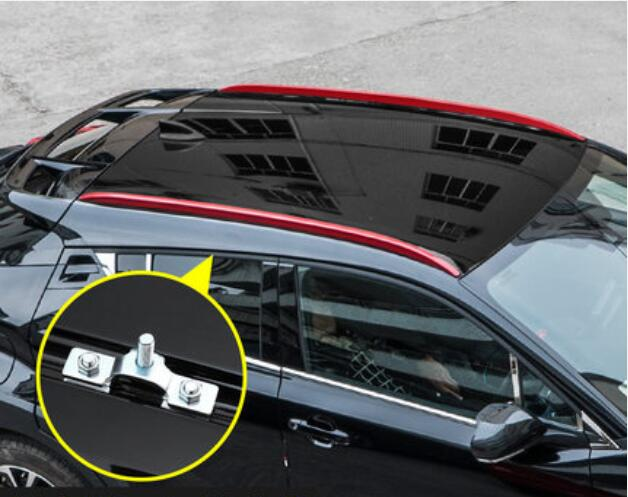 Aluminum Alloy Car Roof Rack Baggage Luggage Bar For  Toyota C-HR CHR 2016 2017 2018 2019 BY EMS