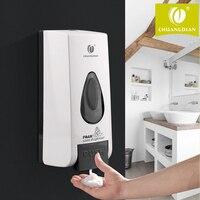 CHUANGDIAN 500ML Foam Soap Dispenser Kitchen ABS Wall Mount Pump Soap Bottle Shampoo Box Kitchen Bathroom