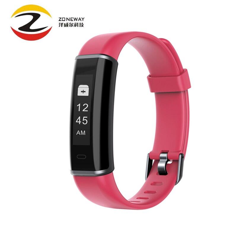 ID130HR étanche montre intelligente Test de fréquence cardiaque appel/Message rappel sommeil moniteur Bracelet Fitness Tracker pour iPhone Andriod