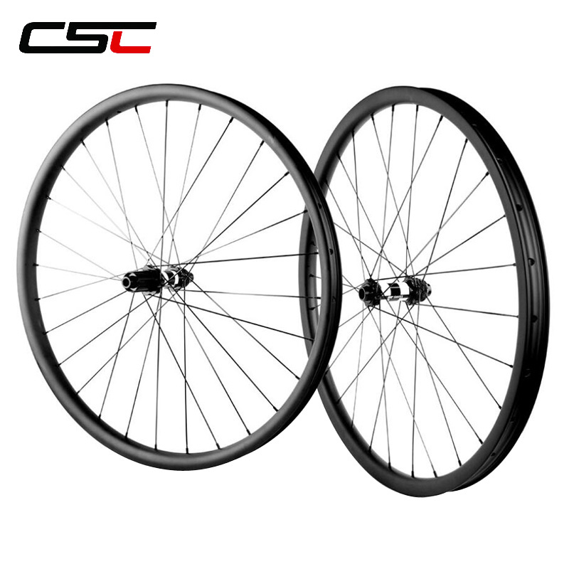 29er Tubeless 350s Mountain bike carbon wheels 29inch MTB carbon bicycle wheelset 15x100mm/12x142mm free shipping carbon mtb wheels 29er mtb wheelset mtb bike width 35mm mountain bicycle mtb wheelset ud matte wheel