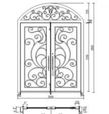 Iron Door Minecraft Fiberglass And Wrought Iron Entry Doors