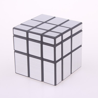 Original magic speed  mirror cube sticker block Puzzle Cast Coated Cube professional learning education toys for children 8