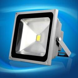 Ultracienki LED światło halogenowe 10W 20W 30W 50W czarny AC85-265V wodoodporny IP66 reflektor reflektor oświetlenie zewnętrzne darmowawysyłka