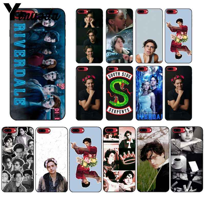 Yinuoda American TV Riverdale Series Cole SprousePhone Case for iPhone 8 7 6 6S Plus X XS MAX 5 5S SE XR 10 Cover