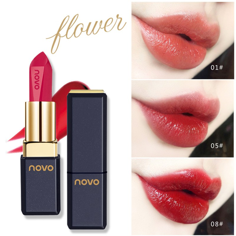 34 Colors Waterproof Matte Nude Lipstick Long Lasting Lip