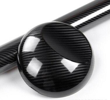 152*10cm Black 5D High Light Carbon Fiber Vinyl Film Car Wrap Film Car Sticker Auto Exterior Accessories Film Strong Stretch