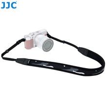 JJC – ceinture d'épaule pour appareil photo sans miroir, en néoprène, DSLR, longueur 124cm, anneau de protection, sangle de cou colorée réglable