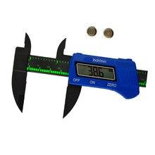 3 Colores A Estrenar 150mm Electrónica Digital Vernier Calibrador de Micrómetro Regla de Medición con Función de Retención