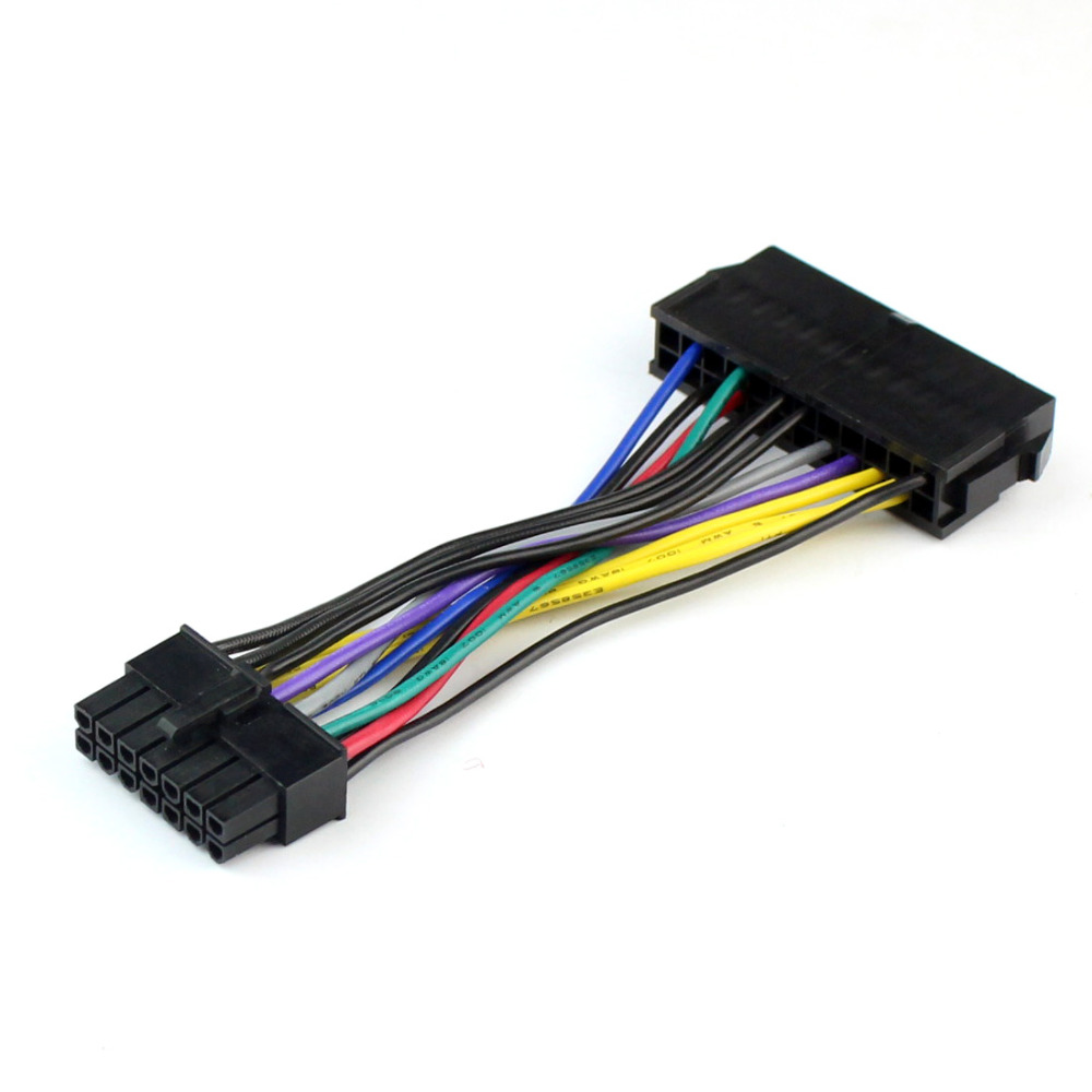 power supply cable cord 18awg wire atx 24 pin to 14 pin. Black Bedroom Furniture Sets. Home Design Ideas