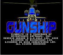 Gun Ship 16 bit MD Game Card For 16 bit Sega MegaDrive Genesis game console