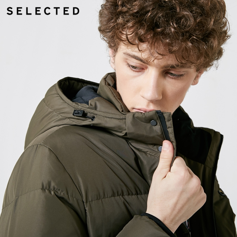 Image 4 - SELECTED New Winter Down Jacket Men's Water proof Outwear Warm Clothes Down Coat Suit S  418412529-in Down Jackets from Men's Clothing