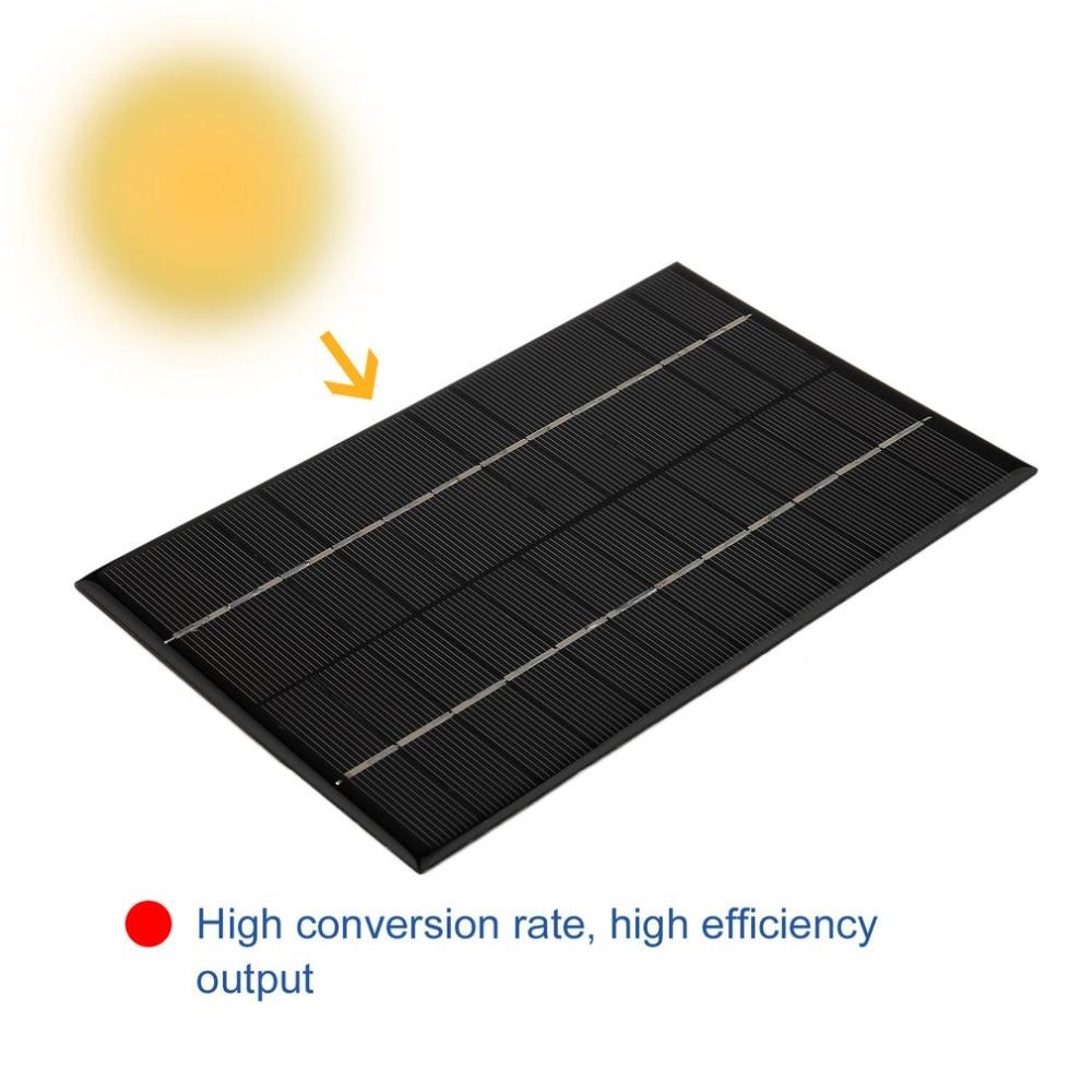 Hot New 4.2W 18V Polycrystalline Silicon Solar Panel Portable DIY Solar Module System Solar Charger 200 *130*3 mm Drop Shipping