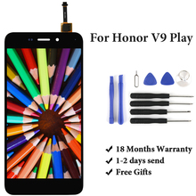 For  Honor V9 Play JMM-AL10 LCD Display Assembly Replacement With Touch Screen For  Honor V9 Play LCD Screen 5.2' 100% tested lcd for vivo y85 v9 lcd display with touch screen sensor complete my version assembly for vivo v9 youth
