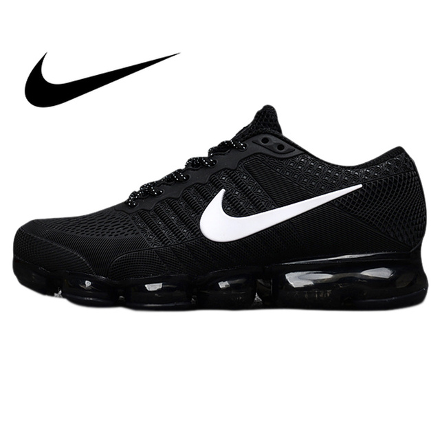 Original Authentic Nike Air Vapormax Flyknit Men s Running Shoes Sport  Outdoor Sneakers Breathable Athletic Low Top 849558 ea190f6c2d94