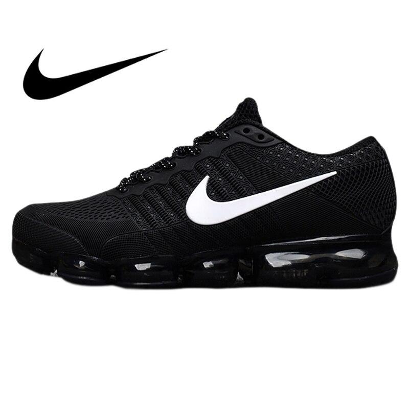 Original authentique Nike Air Vapormax Flyknit hommes chaussures de course Sport extérieur baskets respirant athlétique bas Top 849558