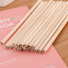 30pcs/lot High quality circular logs pencils, HB childrens calligraphy pencil drawing can  LOGO customization.